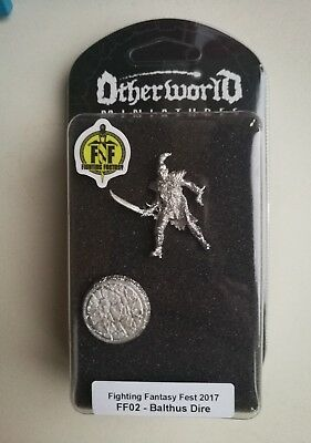 Balthus Dire Otherworld 34mm Pewter Miniature Fighting Fantasy Fest Limited Ed