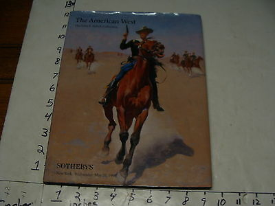 Vintage ART book--the American West John F. Eulich Collection, 1998 Sotheby's