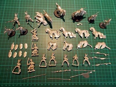WARHAMMER LOTR - Knights of Dol Amroth Lot, Prince Imrahil, Mounted & on-foot