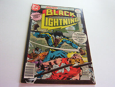 Black Lightning  #1  April 1977  Silky Smooth Copy!   Gorgeous  Very Fine+