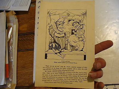 Vintage MARIONETTE Publication: Puppets around the world w/ MollieFalkenstein