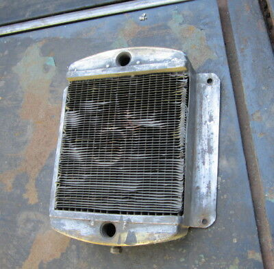 Small Vintage Car Radiator/ Oil Cooler Antique Brass/Copper 1/4 scale