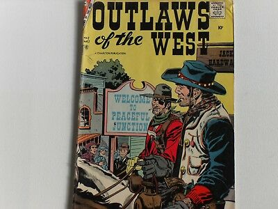 Out Laws Of The West #12 October 1957, Charlton Comics Group