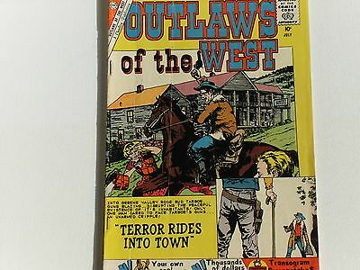 Outlaws Of The West, #26, Charlton Comics, 10Cent Issue July 1960