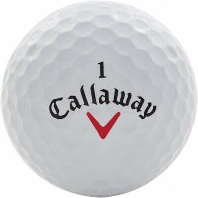 50 Callaway Golf Balls AAAA/Near Mint Grade Golf Balls *Free Tees!*