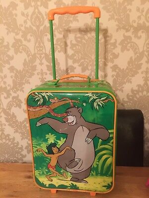 Official Disney Store - Light Up Jungle Book Suitcase - Pull Along