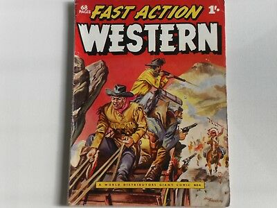 Giant Comic #4, Fast Action Western, Wdl 68 Page 1/- Comic Simon & Kirby