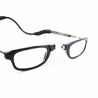 Black Magnetic Reading Glasses, London brand Loopies, 50% Reduced from RRP!