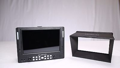 "MustHD M701H - 7"" inch on-camera Video-assit Field Monitor with HDMI I/O"