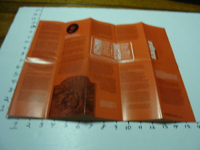 Saugus Iron Works 1975 Fold Up Brochure