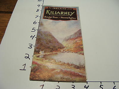 Vintage Tourist paper: see IRELAND first KILLARNEY brochure, early undated