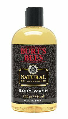 Burt's Bee Natural Skin Care Liquid Body Wash for Men - 12 Fluid Ounce