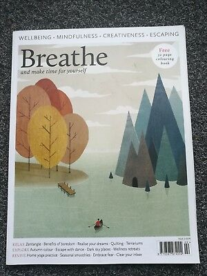 Breathe Magazine No.2 Number Two Complete Mindfulness  Wellbeing