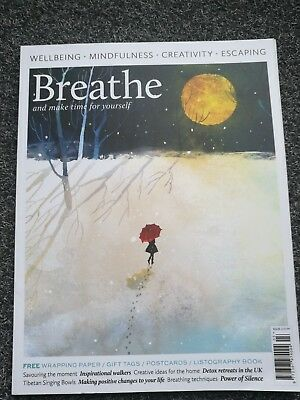 Breathe Magazine No.3 Number Three Complete Mindfulness  Wellbeing