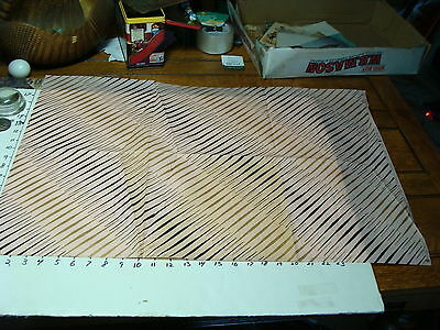 vintage 1950's wrapping paper---SYNCOPATION tie-tie products chicago