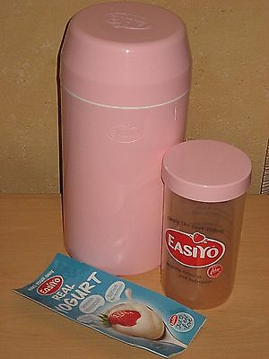 EASIYO Pink Yoghurt Maker 1kg Nutritious All Natural + Instruction Leaflet