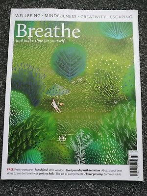 Breathe Magazine No.7 Number Seven Complete Mindfulness  Wellbeing