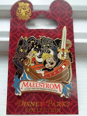 Disney Parks Collection Pin - Maelstrom Attraction - Mickey & Minnie