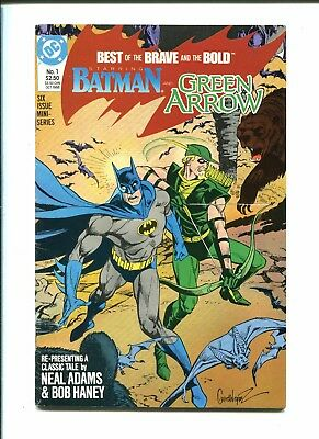 DC Comics - BEST OF THE BRAVE AND THE BOLD 1 2 3 4 5 6 - 1988-89 - Batman apps