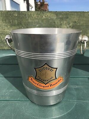 Veuve Clicquot Metal France Ice Bucket Cooler Champagne