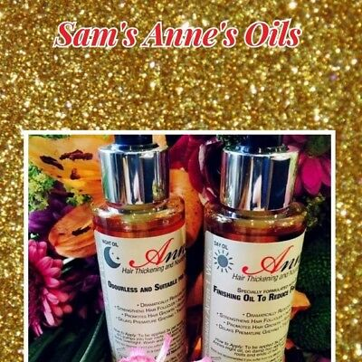 Anne's Hair Oils - Day & Night Oil ( Dual Pack )