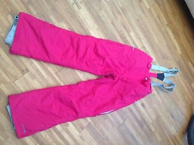 Trespass Ladies Ski Pants With Braces, Size M. Really Good Condition.