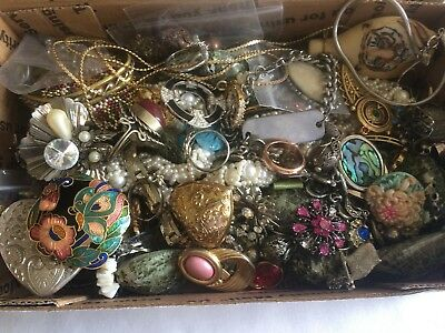 Vintage to Now - Mixed Lot of Mostly Wearable Jewelry