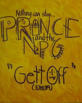 """PRINCE and the NEW POWER GENERATION  """"GETT OFF"""" 1991 12"""" VINYL"""