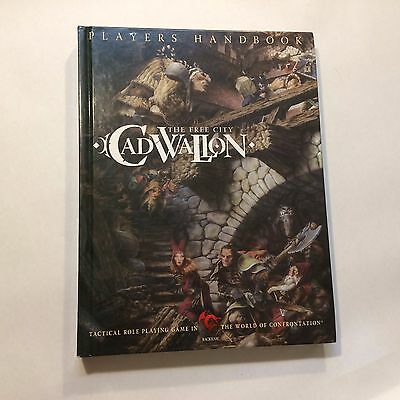 The Free City Cadwallon - Players Handbook - RPG - Role Playing Game