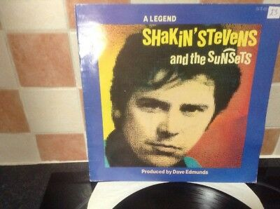 Shakin Stevens And The Sunsets A Legend Vinyl Lp