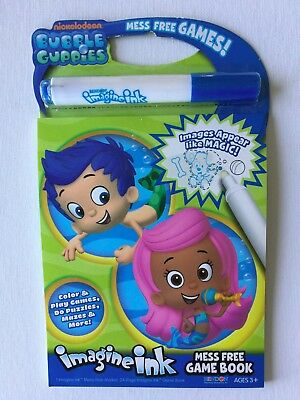 Nickelodeon Bubble Guppies Imagine Ink Mess Free Game Book
