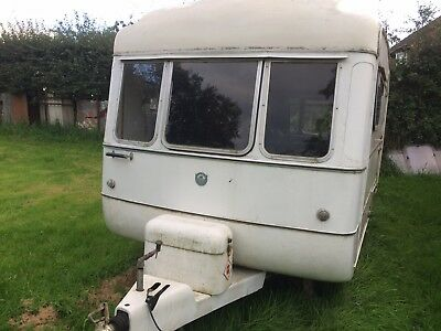 Vintage Viking Fiberline 4 Could Be Made 6 Berth Caravan