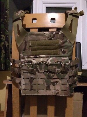 Multicam Plate Carrier With Pouches