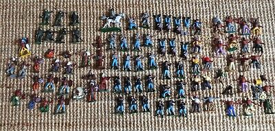 Huge 70+ Joblot Britains Vintage Toy Soldier World War Cowboys Civil Red Indians