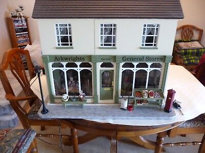 Arkwrights 1:12 Scale Double Fronted Dolls House Shop