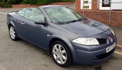 renault megane convertible 2.0 service history