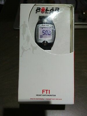 Polar FT1 Heart Rate Monitor, Fitness Tracker and Sports Watch - Never Worn