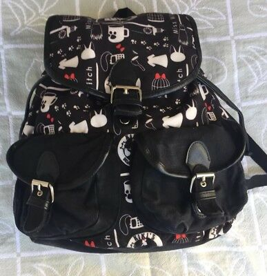 Studio Ghibli's Miss Witch Kiki's Delivery Service Jiji Backpack Book bag Purse