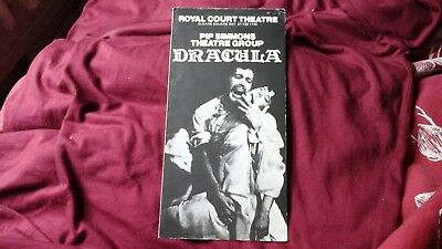 Dracula - Bram Stoker - Pip Simmons  1976 @ Royal Court + Ticket  = Free
