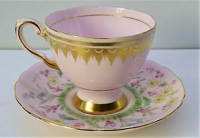 Vintage Tuscan Tea Cup and Saucer English  Fine Bone China