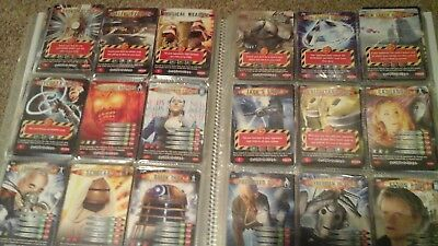 Doctor Who Battles In Time choose ten trading cards inc ultra super rare