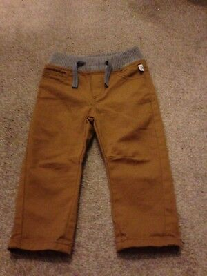 Boys Ted Baker jeans age 12 - 18 months  brand new tan/brown