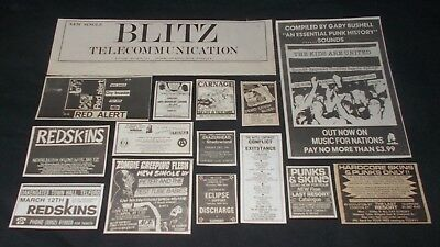 Punk Collections - Blitz / Redskins / Red Alert / Carnage / The Kids Are United
