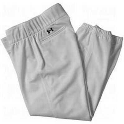 NWT Under Armour Womens Heat Gear Softball Pants Gray SIZE SMALL