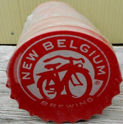 New Belgium Brewing Co Beer Pack Of 100 Bar Coasters New Sealed