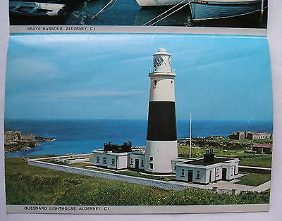 Lettercard - ALDERNEY - CHANNEL iSLANDS - QUESNARD LIGHTHOUSE - (CHIS1-12)