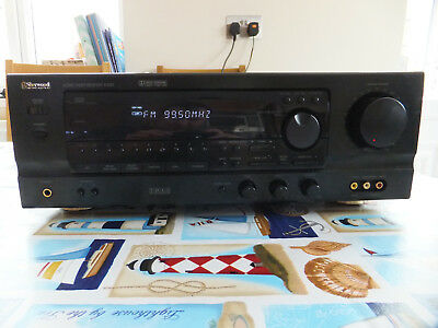 Sherwood Newcastle R-525RDS Receiver Amplifier with remote