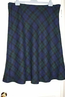 RARE Vintage Harris Tweed Skirt Size 22? 24?