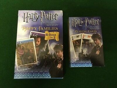 Two Unopened Packs Of Harry Potter Playing Cards