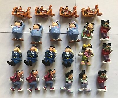 Kinder - Gros Lot Mickey Et Compagnie 1989